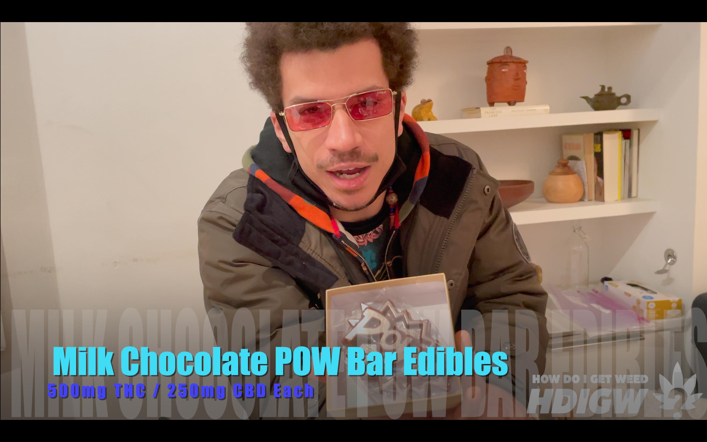 Milk Chocolate POW Bar Edibles Video